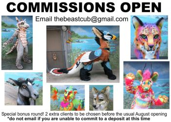 Fursuit Commissions Open by LilleahWest