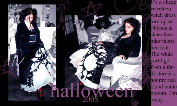 .::Ravaged::.halloween2005 by porcelainXstitches