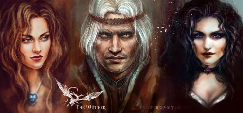 ~The Witcher~ by JustAnoR