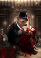 KC: Beary Dance by ForbiddenImmortality