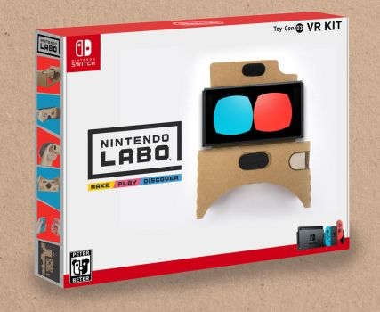 Nintendo LABO VR KIT by PeterisBeter