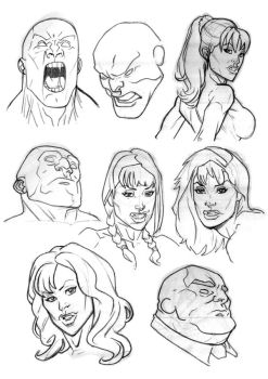 Faces by Bambs79