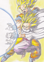 Father and Son Kamehameha by KasumiKetchum