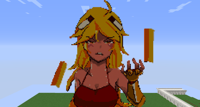 Minecraft Pixel Art: Blazette Shy by Mrbt0907