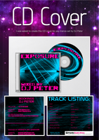 Exposure - DJ Peter - CD Cover by SeoxyS