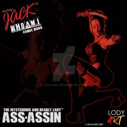 Jack WhoAmi Comic Book Assassin Poster 03 by LodyArt
