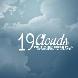 19 Clouds Brushes by someoneyoul0ve