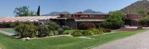 Taliesin West Main building by dkbarto