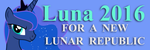 Luna 2016 Bumper Sticker by Framwinkle