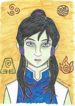 Korra by Ifrit62