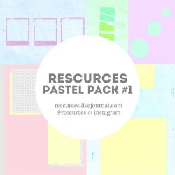 Rescurces Pastel Pack #1 by rescurces