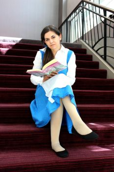 Belle: Reading by SerenaDoll