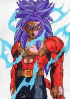 SSJ4 Trunks again by ChahlesXavier