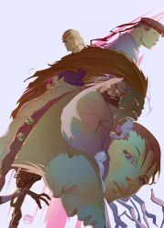 StreeTFighter gang by CoranKizerStone