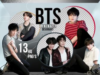 PNG PACK #2| bts by ninat7