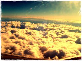 over the clouds by ad-shor