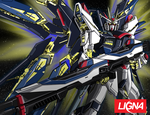 Gundam STRIKE FREEDOM by HOLOCGRAM