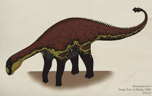 068--SHUNOSAURUS LII by Green-Mamba