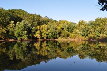 Reflections on the Monocacy Scenic River by ticklemeimsexy