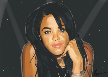 Aaliyah by RooseveltNP