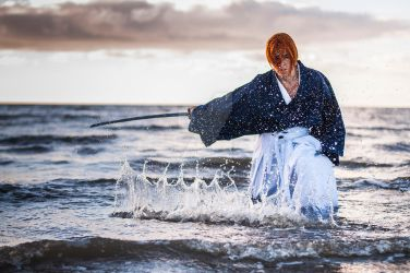 Kenshin Himura (manga version) by nielacosplay