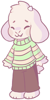 Asriel by RonniePonnie