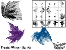 Fractal Wings - Set 2 by angela3d