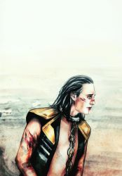 LOKI - Wretched And Divine by Farbenfrei