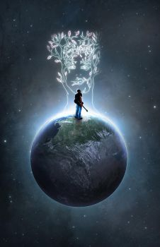 Earth Day Poster: 1 by DemosthenesVoice