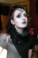 Stock - Vampire Make-up sideview gothic  dark by S-T-A-R-gazer