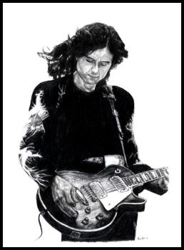 Jimmy Page by equusrevelrous