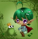 Elf and frog colours by Hotaru-oz