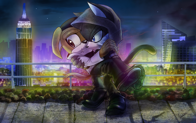 Commission: New-York roofs by MNIMOREA