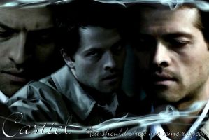 Castiel Wallpaper 2 by raefalcon
