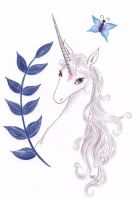 The last Unicorn - Butterfly by thelastunicorn