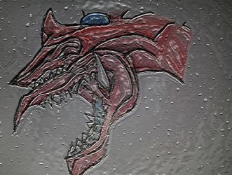 Slifer The Sky Dragon v1 by Sparkles247