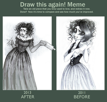 Mrs. Lovett - Draw This Again Meme by AlexandriaMonik