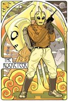 Rocketeer in Color by TheArtfulMegalodon