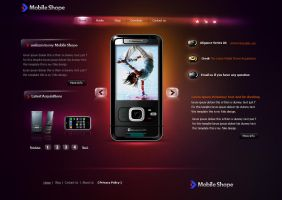 mobile shope by aadi-f