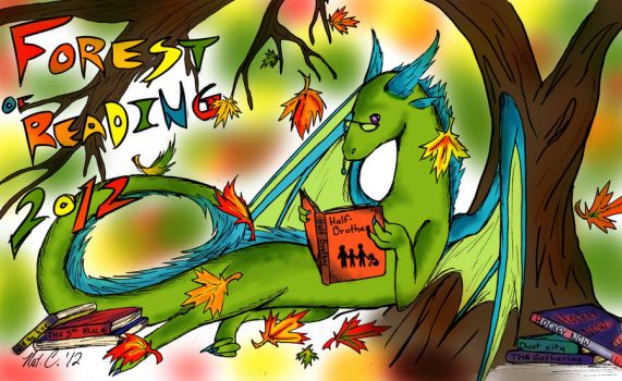 forest of reading dragon by fantasy-coolcat
