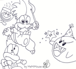 Koopaling Doodle by MeMiMouse