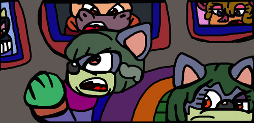 Wovolt Talking With The Other Bosses On Monitors by Gr8Finity
