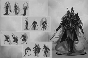 Concept art sheet- Vampire by Fenrir--the-2nd