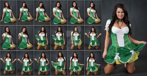 Stock: Rebecca St Patricks Floor Poses - 18 Images by stockphotosource