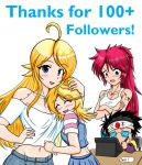 100+ Followers-Thanks by Thurosis