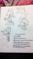 Juggernaut Ref sheet by sketchychu