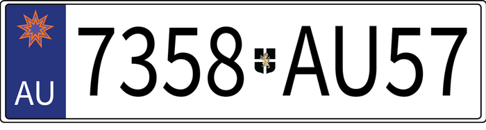 Auroviel Licence Plate by velgundaire