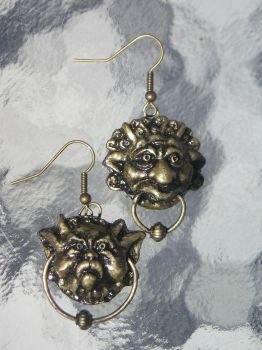 labyrinth earrings by AnimeGeer