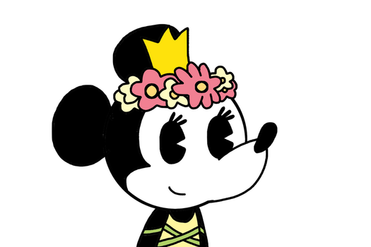Minnie with her outfit from Springtime by MarcosPower1996