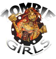 OFFICIAL ZOMBIE GIRL LOGO by Jay-Allen-Hansen